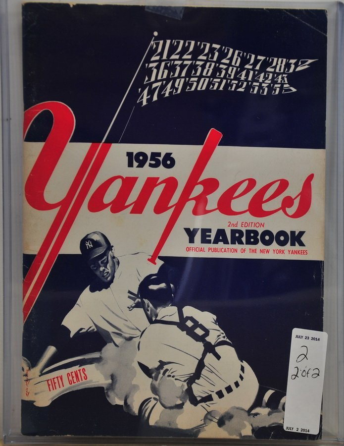Two 1950's Yankees Yearbooks