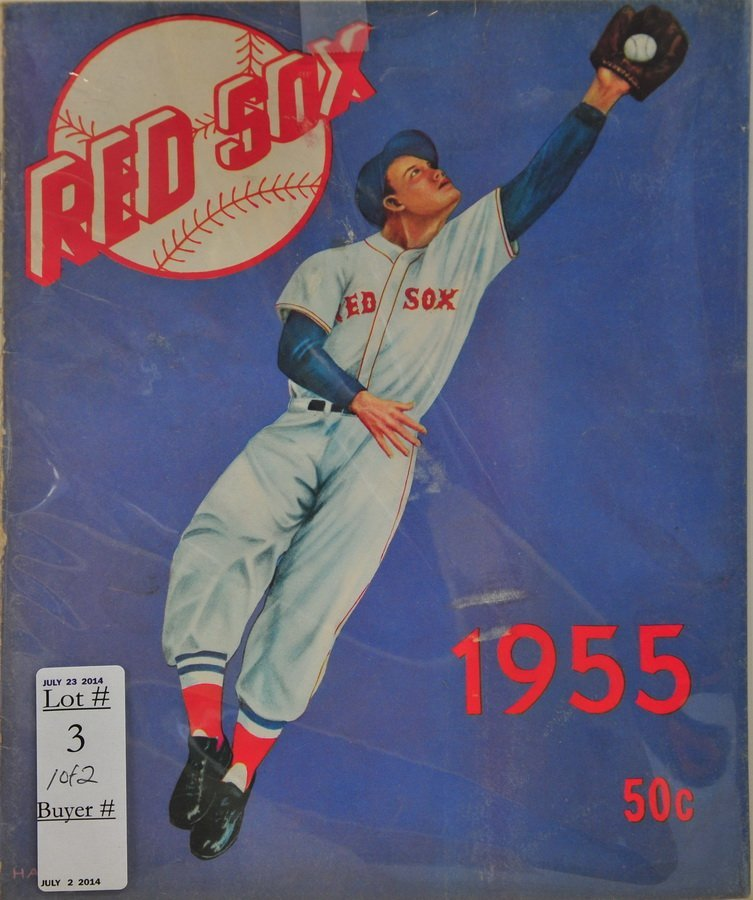 Two 1950's Red Sox Year Books