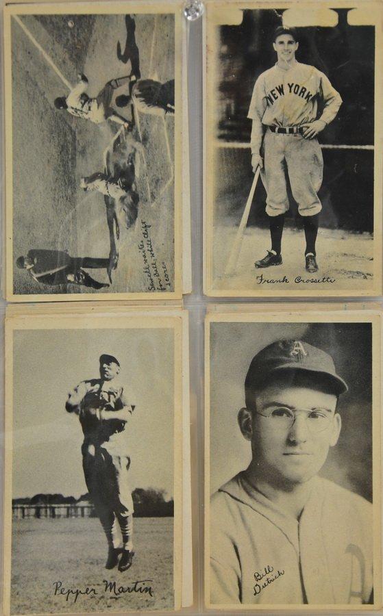 19 1937 Goudey Wide Pen Cards