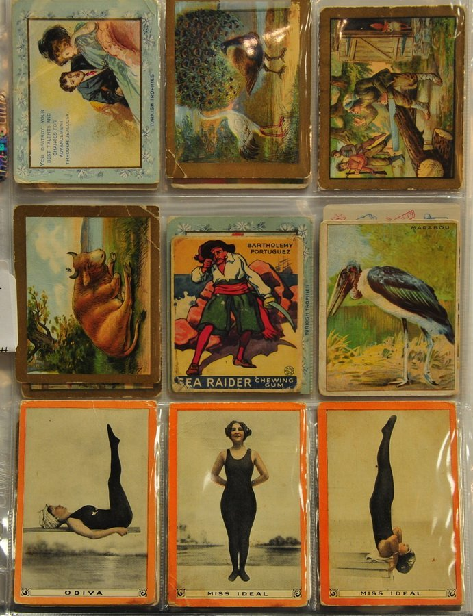 Collection of 27 Non Sports Cards