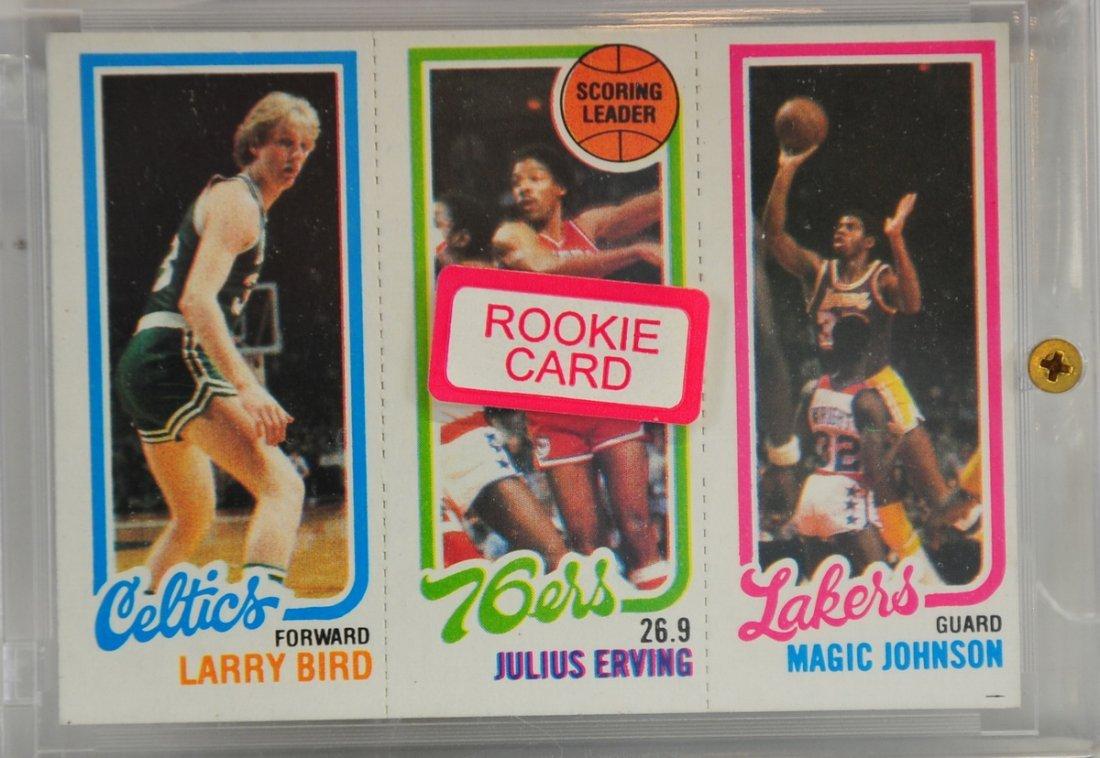 1980-81 Larry Bird, Magic Johnson Rookie