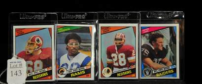 1984 Topps Football Rookie Lot
