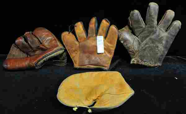 Collection of Antique Sports Equipment