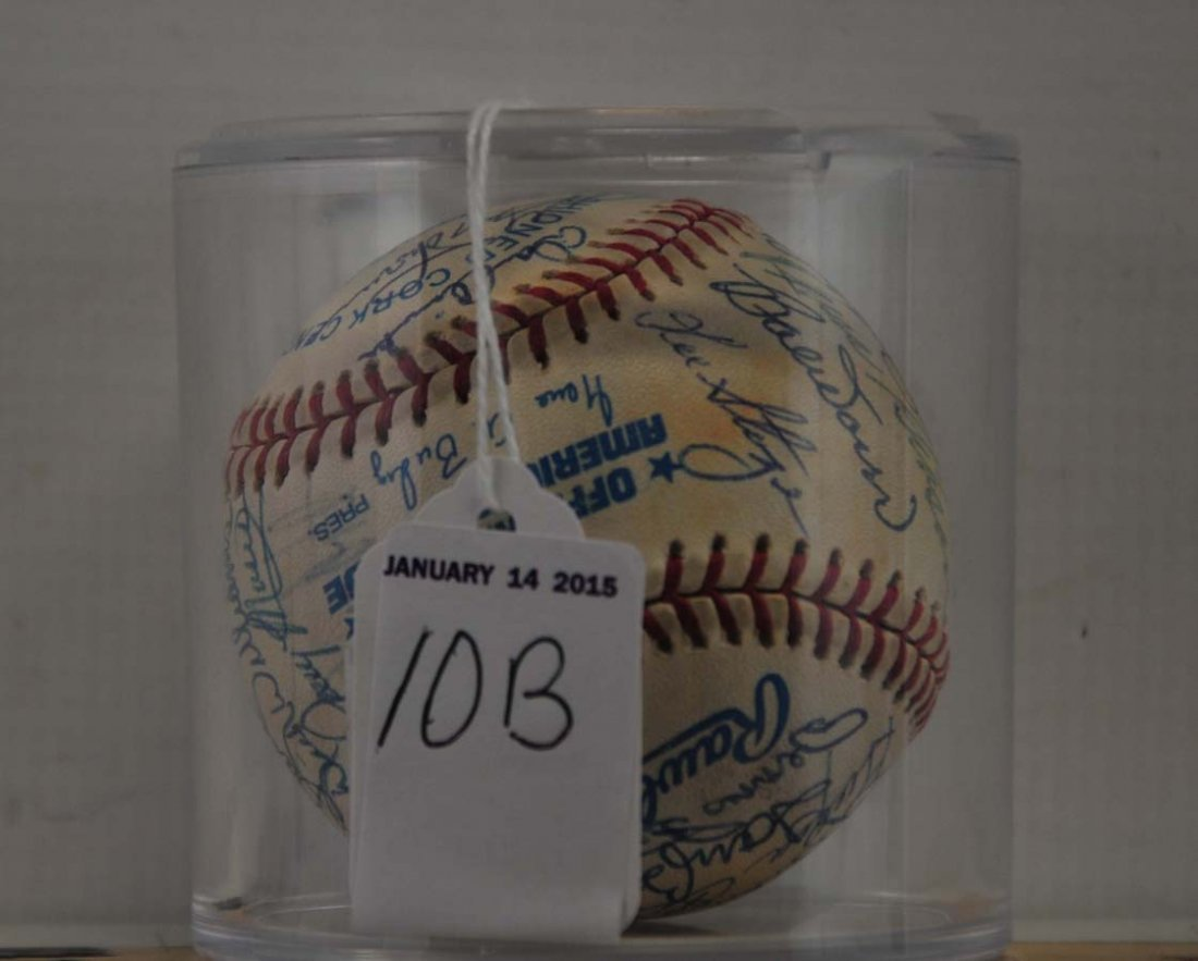 1967 American League Champion Redsox Signed Ball