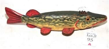 Antique Pike Fish Decoy