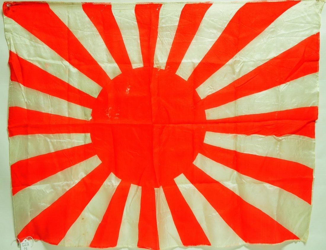 Imperial Japanese Navy Slik Flag