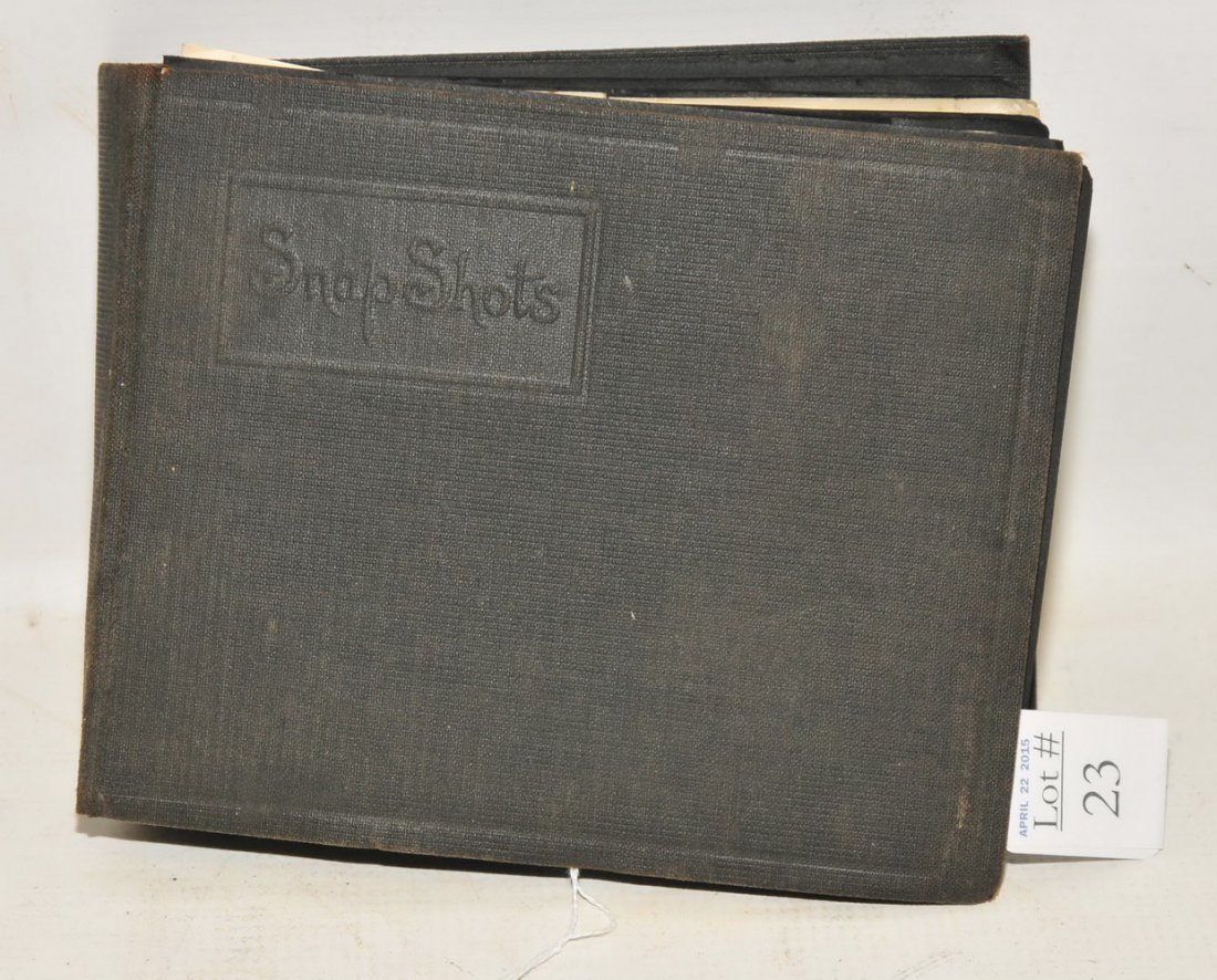 WWI Photo Albums with troop photos
