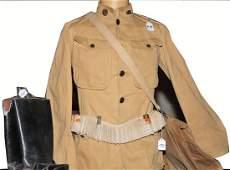 Spanish American War Officers Uniform