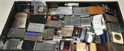 Large Collection of Vintage Lighters