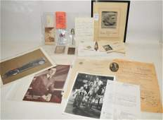 Ephemera misc collection to include
