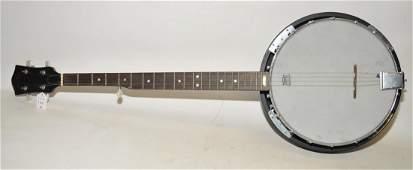 Five String Hondo banjo missing