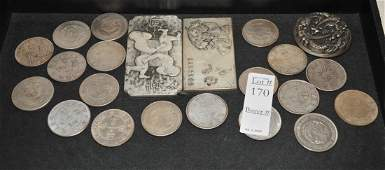 Collection of Chinese coins and medals