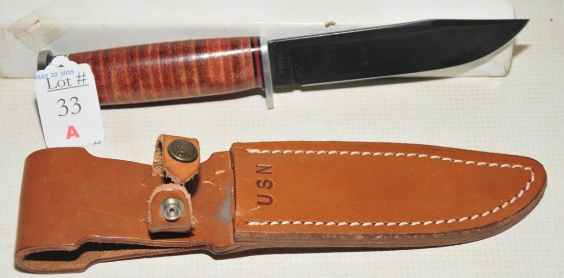 US Navy SeaBee Knife