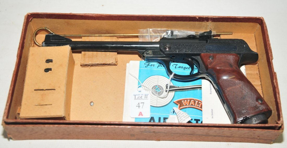Walther Pellet Pistol in original box