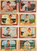 8 1955 Bowman Baseball Hall Of Famers