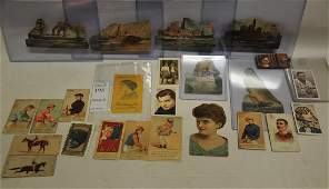 Collection of over 20 Non Sports Tobacco Cards