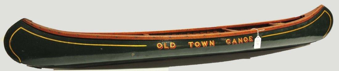 "Wonderful 48"" Salesman Sample Old Town Canoe"