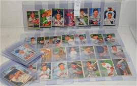 Collection of 40 1952 Bowman baseball cards