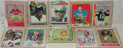 Excellent Collection of Football Cards