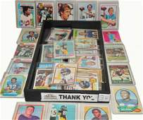 Collection of 1970's HOF/Stars Football Cards