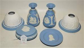 Six Pieces of Wedgwood