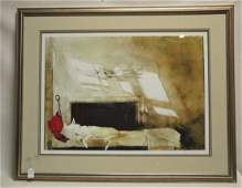 Andrew Wyeth Signed and Numbered Print
