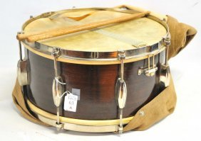 Slingerland Drum With Sticks And Bag