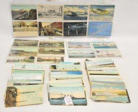 250 Plus Transportation Postcards