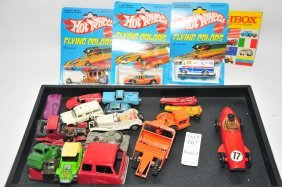 Collection Of Small Toy Vehicles