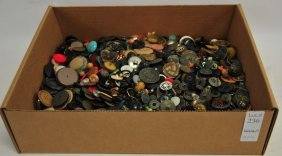 Lot Of Attic Buttons