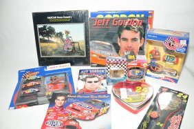 Collection Of Jeff Gordon Racing Items