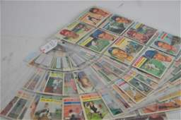 Estate Collection of 139 1956 Topps Baseball Cards