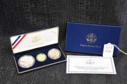 2008 Bald Eagle Gold and Silver Proof Coin Set