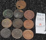 Estate Collection of coins
