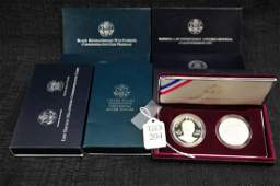 Collection  of Commemorative Coins