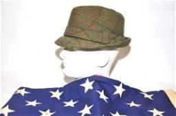 Bob Hope Fedora and US Flag 1960's USO Tours
