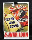 Original 1944 WWII US Poster