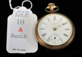 5 Pocket Watches And Ladies Pin Watch