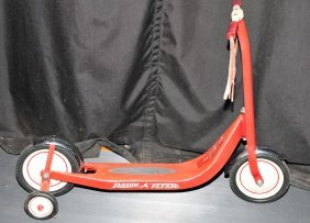 1950's Radio Flyer Scooter All Original