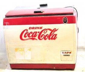 Coca Cola Floor Model Cooler