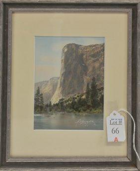 Sawyer Hand Colored Photo Yosemite 4x6
