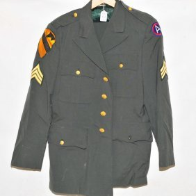 Collection Of Wwii Military Uniforms