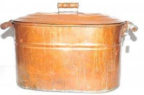 Primitive Copper Boiler