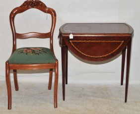 Two Piece Lot Of Furniture