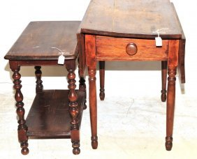 Two Pieces Of Antique Furniture