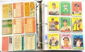 Album of  454 1958-67 Topps Baseball Cards