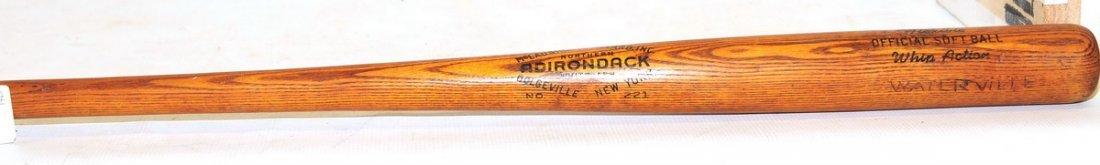 Vintage McLaughlin-Millard Wooden Softball Bat