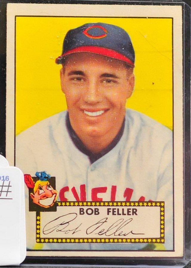 1952 Topps Bob Feller