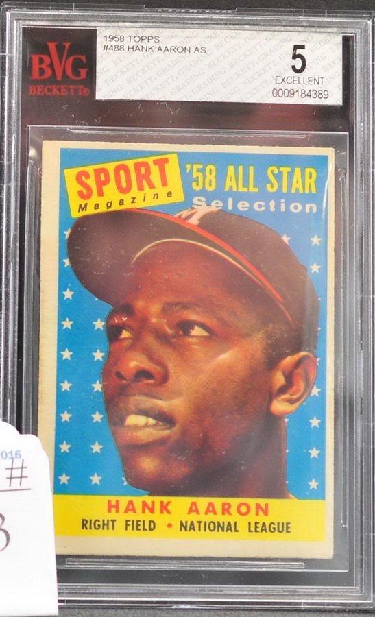 1958 Topps Hank Aaron All-Star