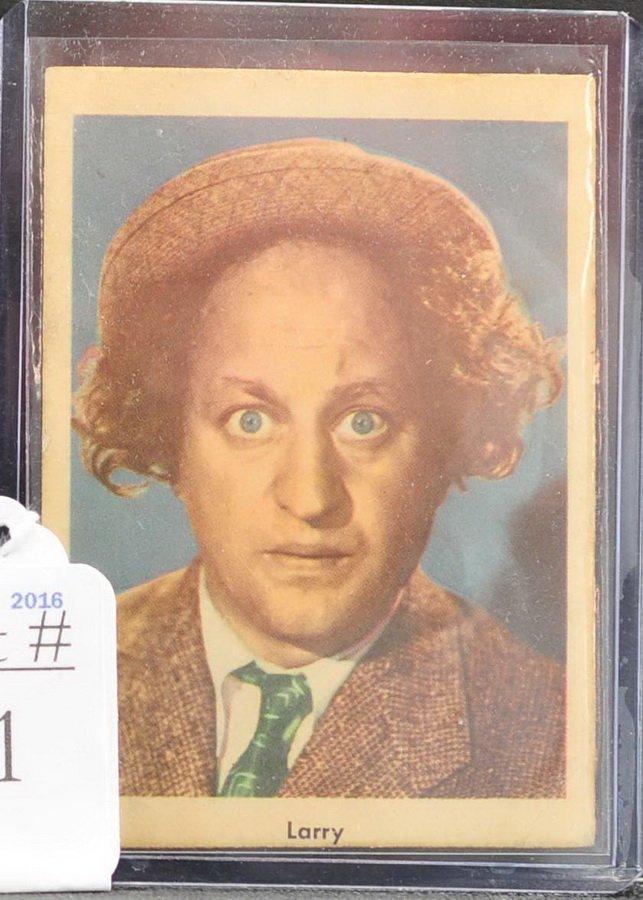 1959 Fleer Three Stooges Card Larry